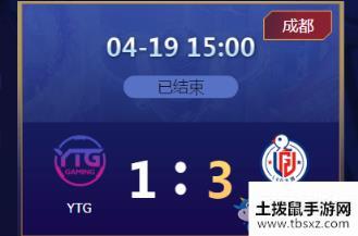 《王者荣耀》2020KPL春季赛4月19日YTG vs LGD大鹅比赛视频